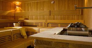 Sauna im Hotel Randsbergerhof Bayern